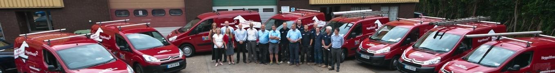 Heppelthwaite the red van plumbers crew