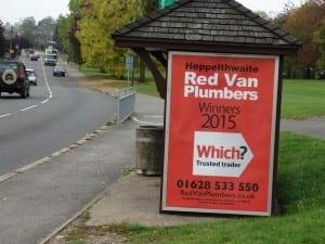 Red Van Plumbers Marlow
