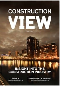 Construction View Magazine front page