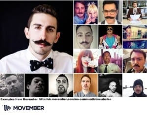 Red Van Plumbers fundraiser for  Movember