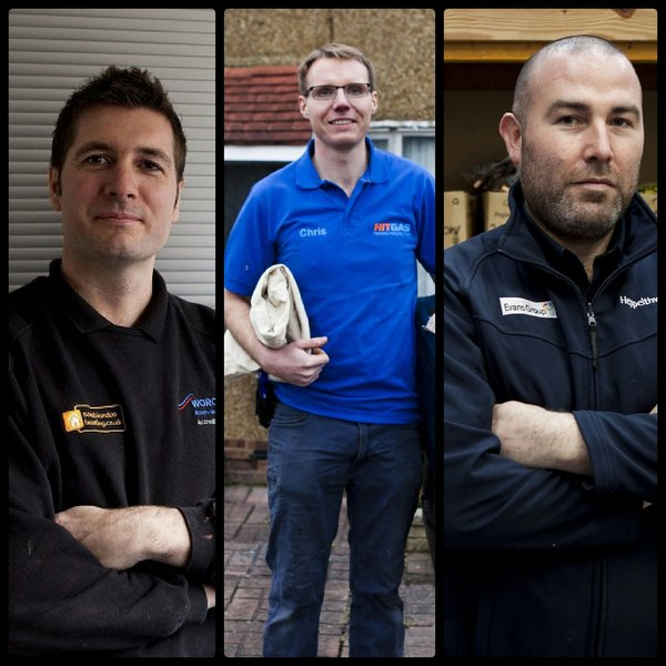 Faces of Which Trusted Traders Heppelthwaite the red van plumbers