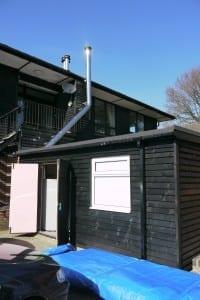 Hazlemere golf club go green. okofen biomass boiler. Heppelthwaite green building solutions. heppelthwaite the red van plumbers