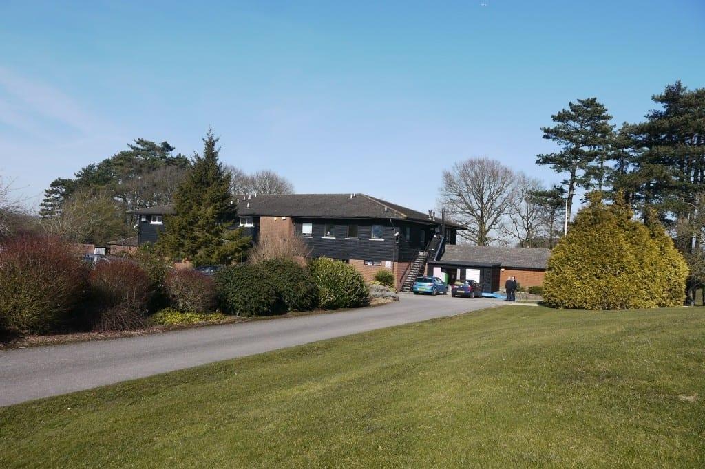 Hazlemere Golf Club Go Green. Heppelthwaite green building solutions. Heppelthwaite the red van plumbers. OkoFen Biomass