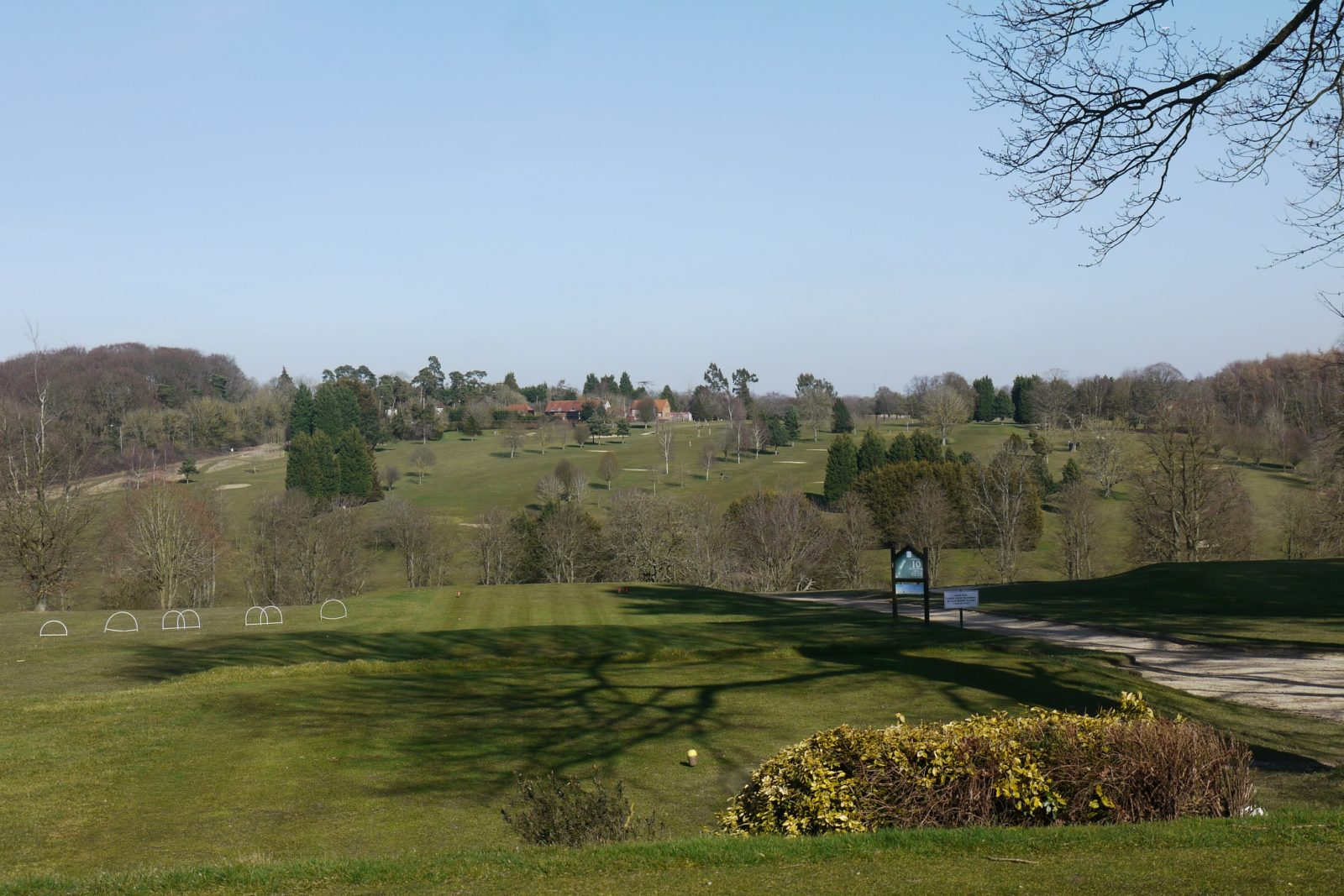 Hazlemere Golf Club Go Green Red Van Plumbers
