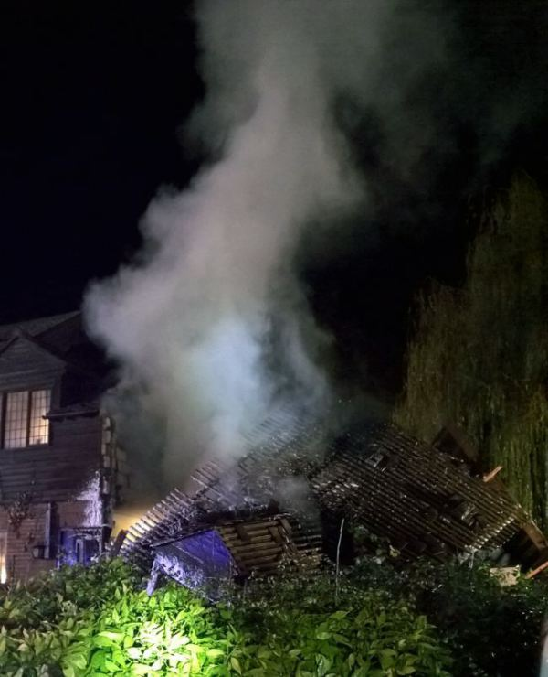 Gas explosion in wooburn green