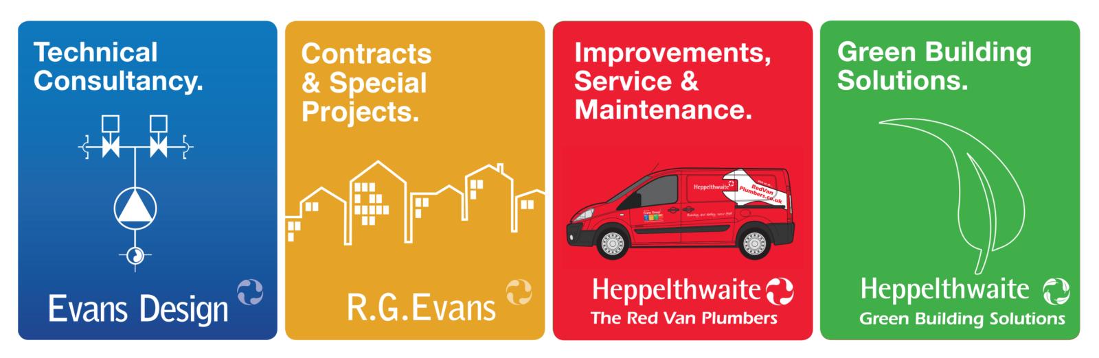 Evans Group Company Logos