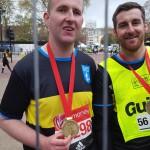 Daniel completes the London Marathon